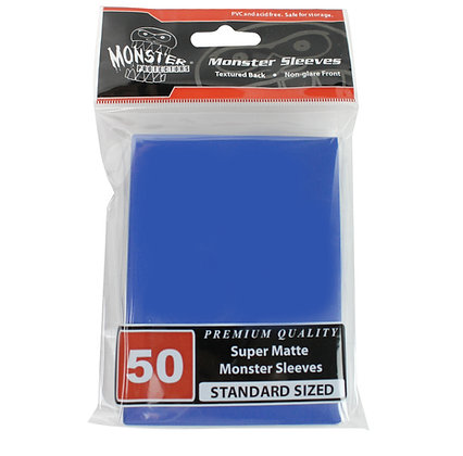 Standard Super Matte Sleeves Blue