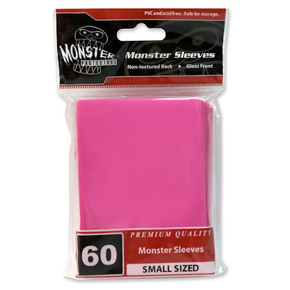 Small Glossy Sleeves Pink