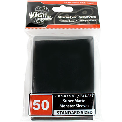 Standard Super Matte Sleeves Black