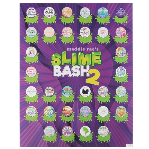 "Slime Bash VIPs Autograph Posters 16"" x 20"""