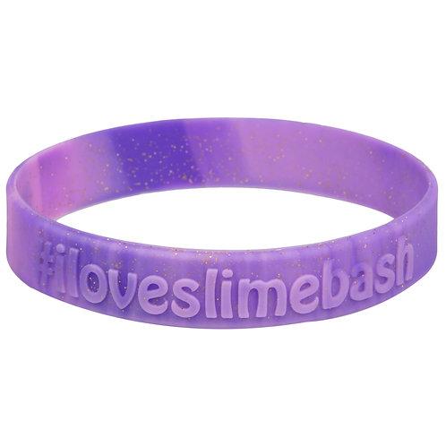 #ILoveSlimeBash Silicone Wristband