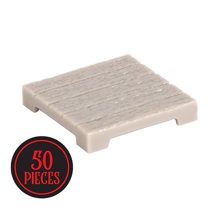 Monster Terrain   50 Wood Plank Tiles   Paintable