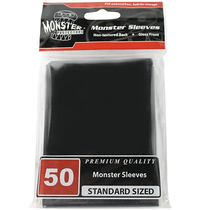 Standard Glossy Sleeves Black