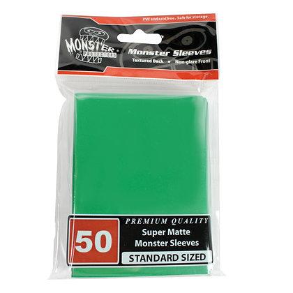 Standard Super Matte Sleeves Green