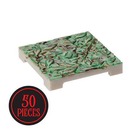 Monster Terrain | 50 Foliage Tile | Painted