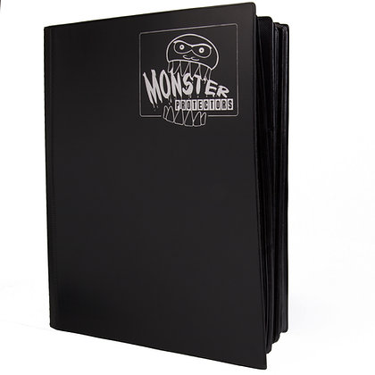 XL Hard Cover Black Mega Monster Card Binder
