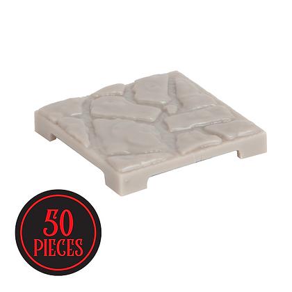 Monster Terrain | 50 Coblestone Tiles