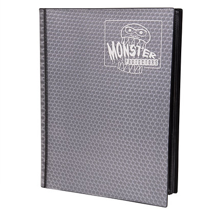 9 Pocket Holofoil Opaque Black Card Binder