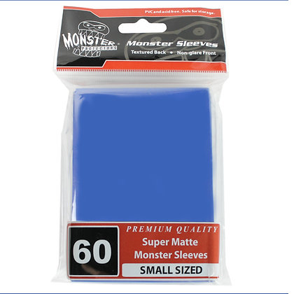 Small Super Matte Sleeves Blue