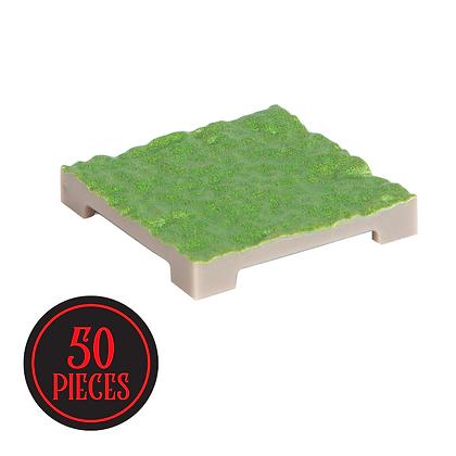 Monster Terrain | 50 Ripple Tile | Painted, Grass