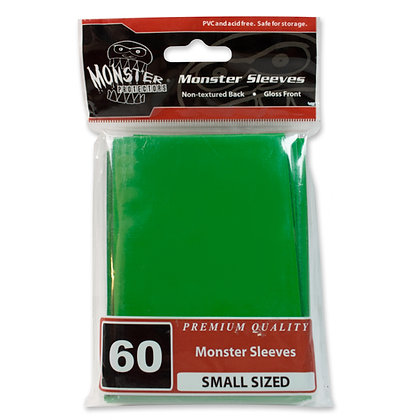 Small Glossy Sleeves Green