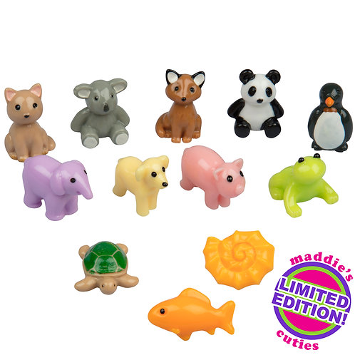 Maddie Rae's Limited Edition Slime Charms 12pc Cuties