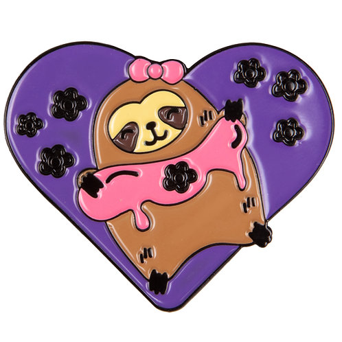 Jumbo Sloth & Slime Pin