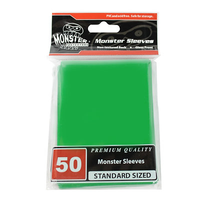 Standard Glossy Sleeves Green