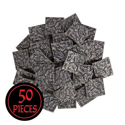 Monster Terrain | 50 Cracked Tile | Painted, Rock