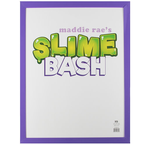 "Slime Bash Autograph Frame 16"" x 20"""