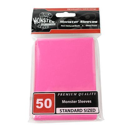 Standard Glossy Sleeves Pink