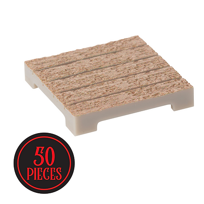 Monster Terrain | 50 Wood Plank Tile | Painted