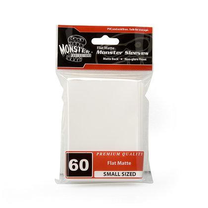 Small Flat Matte Sleeves White