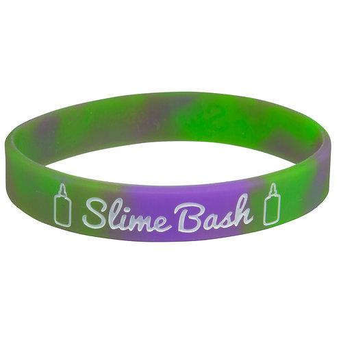 Slime Bash Silicone Wristband