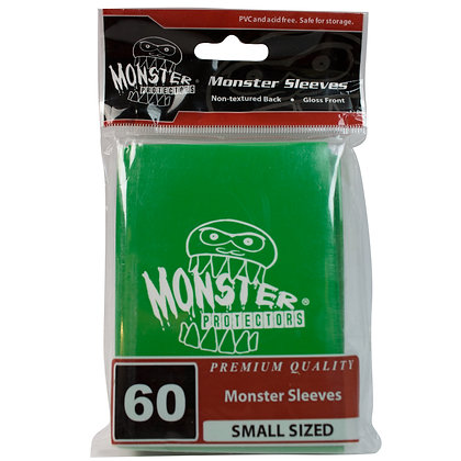 Small Glossy Logo Sleeves Green