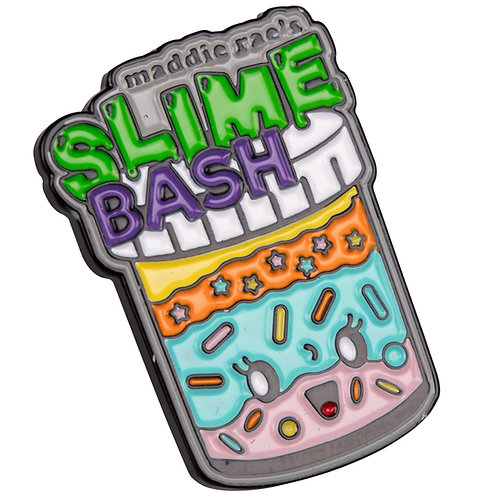 Slime Bash Slime Container Enamel Pin