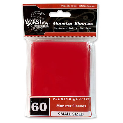 Small Glossy Sleeves Red