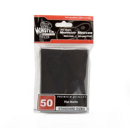 Standard Flat Matte Sleeves Black