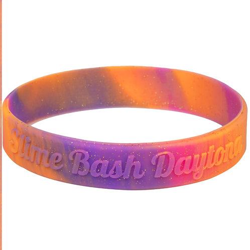 Slime Bash Daytona Silicone Wristband