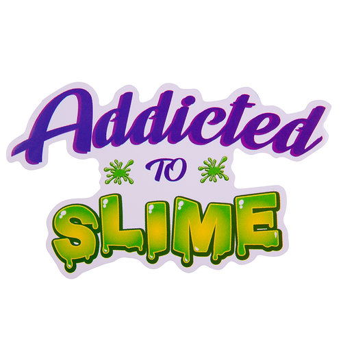 Addicted To Slime Sticker