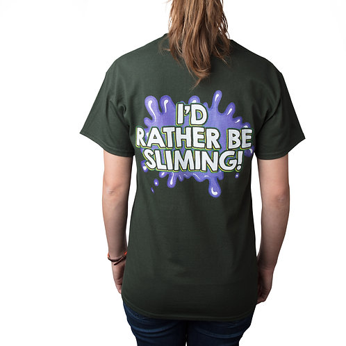 Slime Bash I'd Rather Be Sliming Shirt