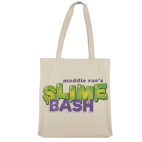 Slime Bash Canvas Bag