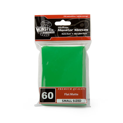 Small Flat Matte Sleeves Green