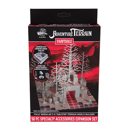 50 Piece Specialty Accessories Expansion Set, Paintable