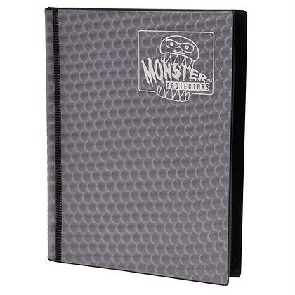 4 Pocket Holofoil Black Card Binder