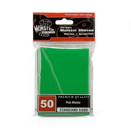 Standard Flat Matte Sleeves Green