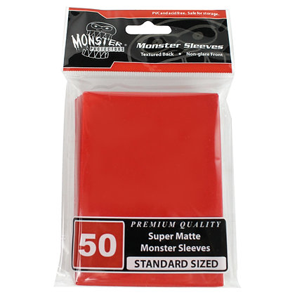 Standard Super Matte Sleeves Red