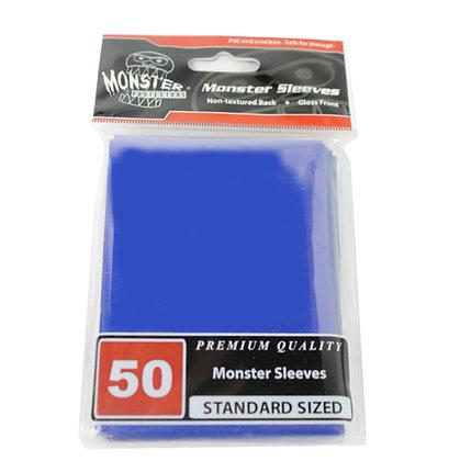 Standard Glossy Sleeves Blue