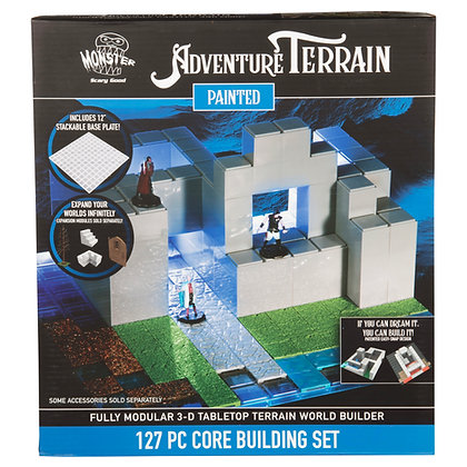 127 Piece Core Building Set, Painted