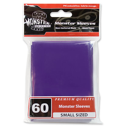 Small Glossy Sleeves Purple