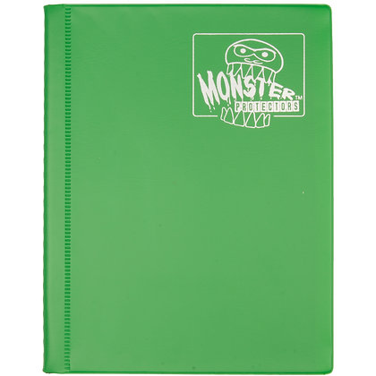 4 Pocket Matte Emerald Green Card Binder