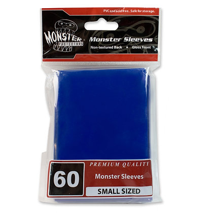 Small Glossy Sleeves Blue