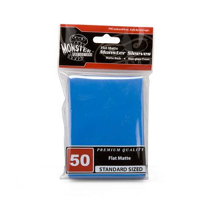 Standard Flat Matte Sleeves Blue