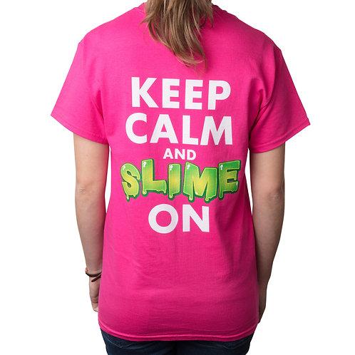 Slime Bash Keep Calm & Slime On Shirt