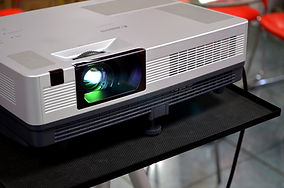 Projector used in live event.