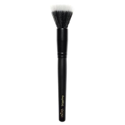 Vegan Stippling Brush for makeup front view