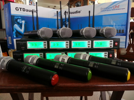 GTD Audio Wireless Microphones