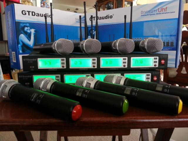 GTD Audio Wireless Microphones