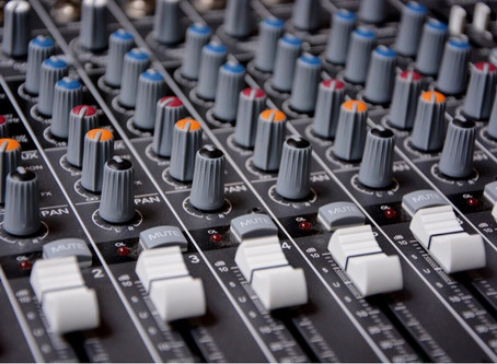 Sound Mixer'sEqualizer Controls Affect Both the Floor Monitors and the Main Speakers