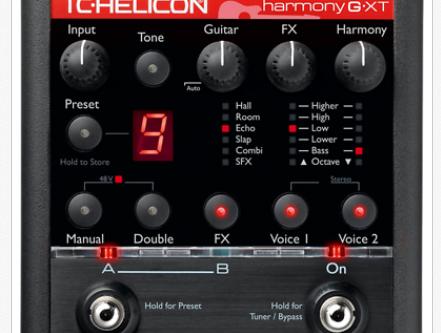 TC-Helicon Voice Processors on 432 hz